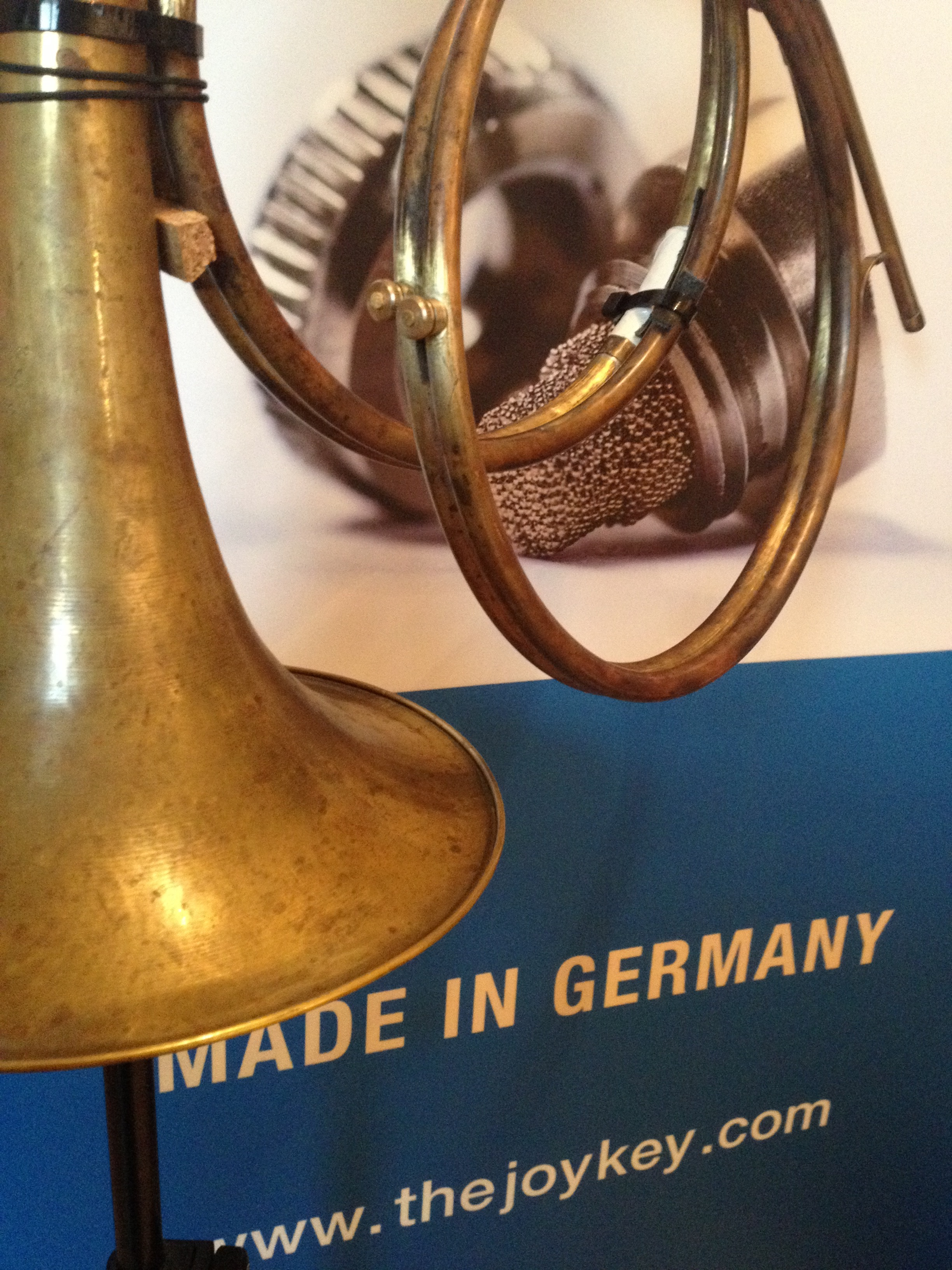 baroque horn F crook with two JoyKey spit valves