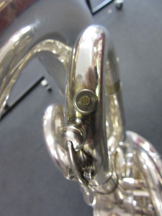 automatic water key for brass instruments and normal water key tuba